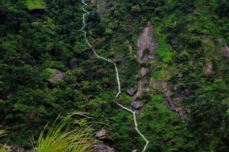 1500 steps to reach base of Jog Falls Karnataka
