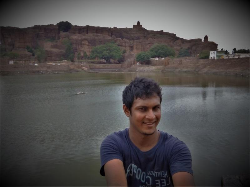 Agasthya Tirtha Lake Badami caves Karnataka