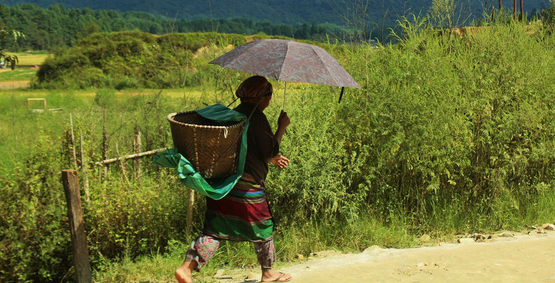 Apatani Women Ziro Valley Arunachal Pradesh