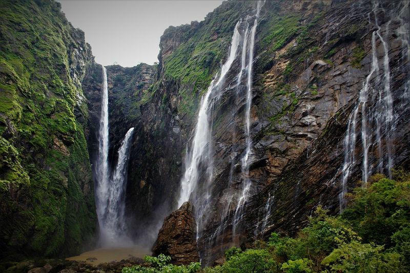 Beautiful Jog falls Karnataka