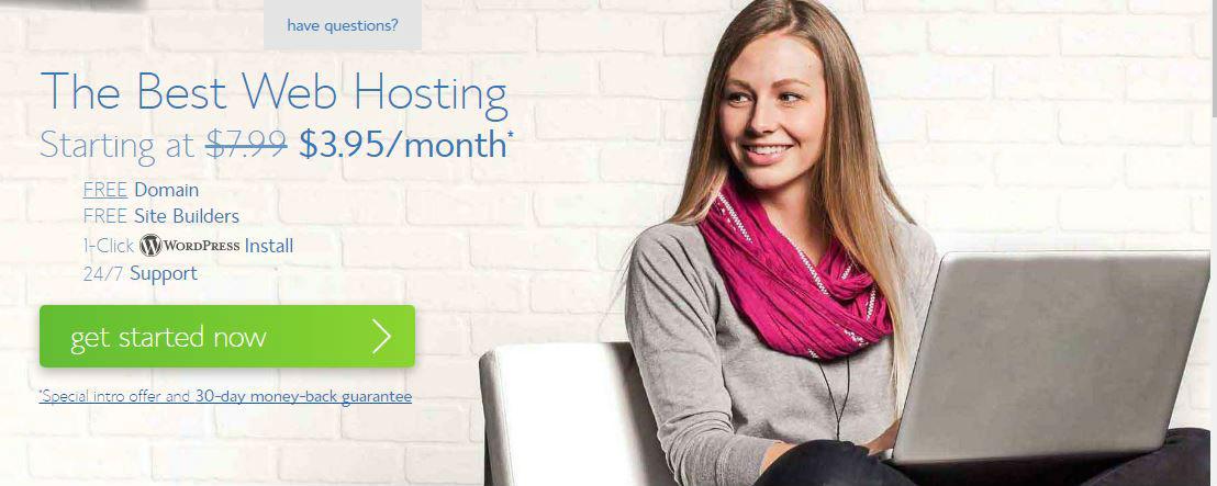 start a blogging website