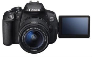Canon EOS 700D 18MP Digital SLR Camera essential travel items
