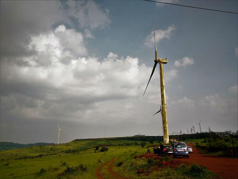 Chalkewadi Windmill Farm Satara