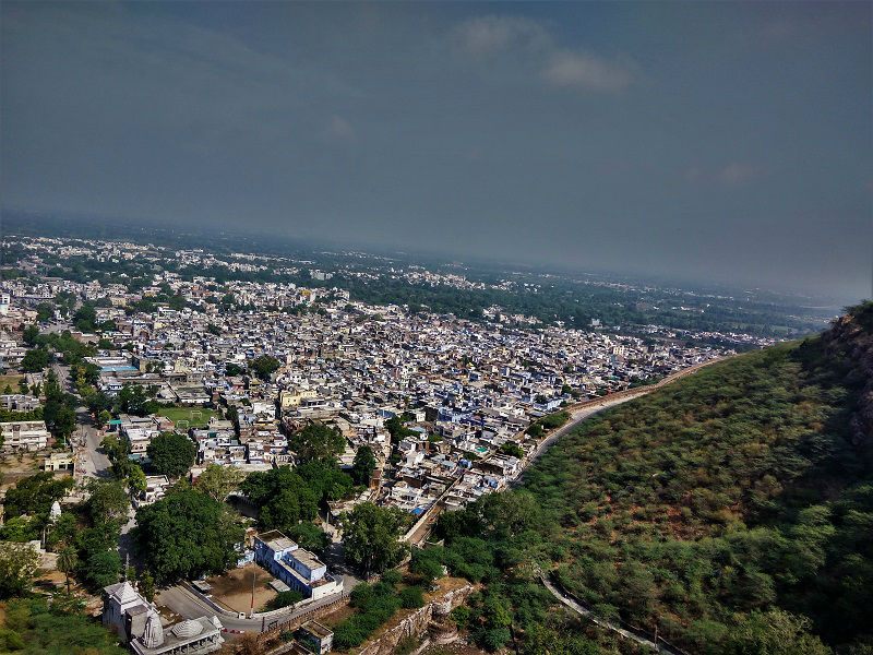 Chittorgarh city view