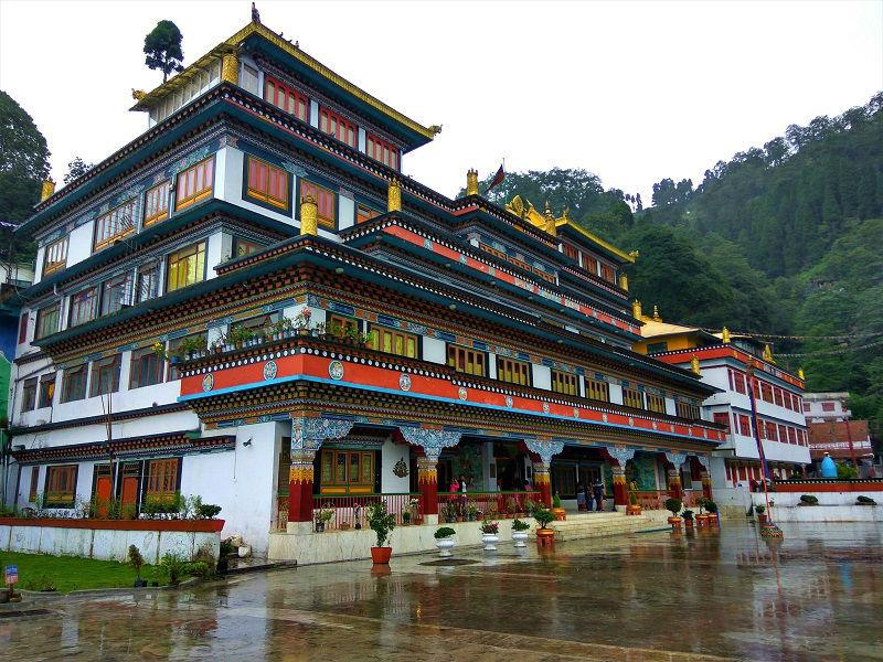 Dali Monastery places to visit in Darjeeling