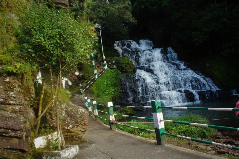 Elephant waterfall side view Shillong Meghalaya