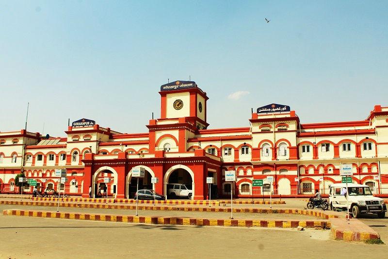 Gorakhpur railway station India