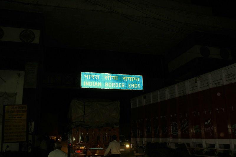 India Nepal border Everest Base Camp trek