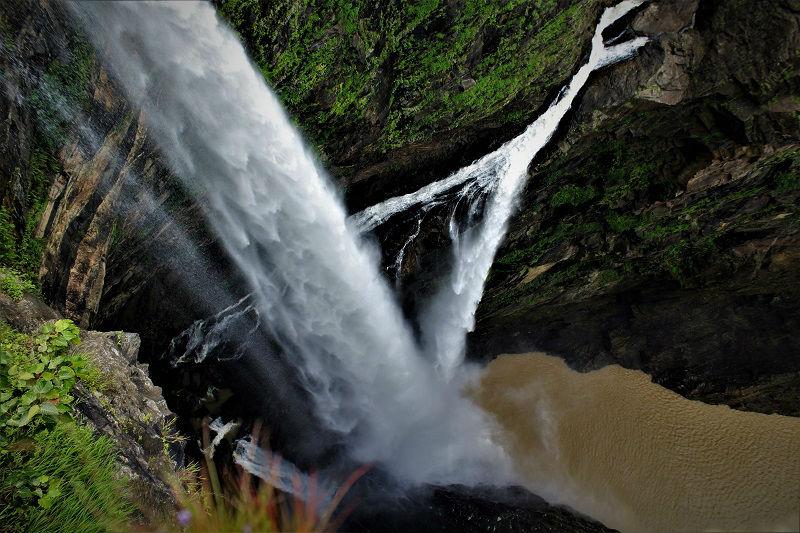 Jog falls Karnataka close view