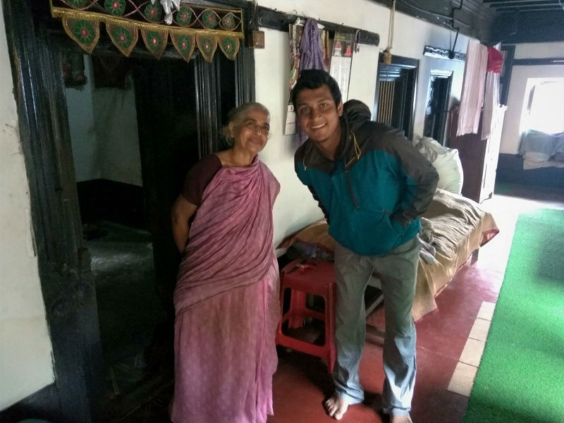 Kasturi Akka and me Dodda Mane Agumbe