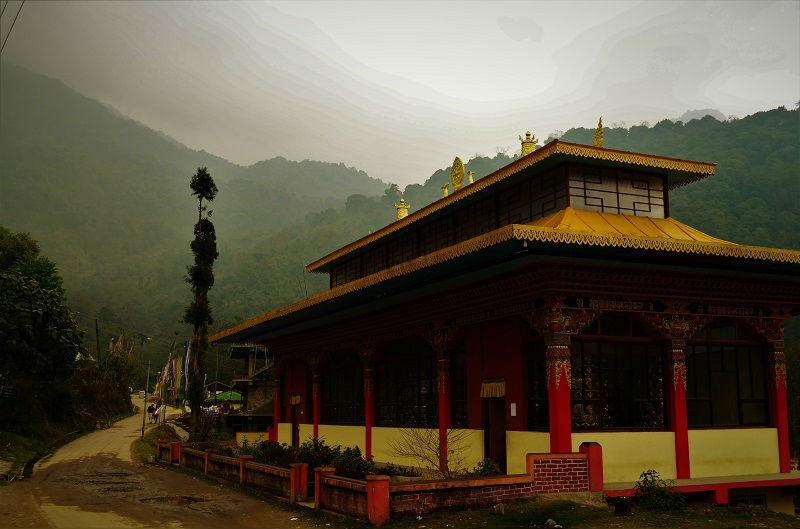 Kathok Monastery Yuksom Sikkim