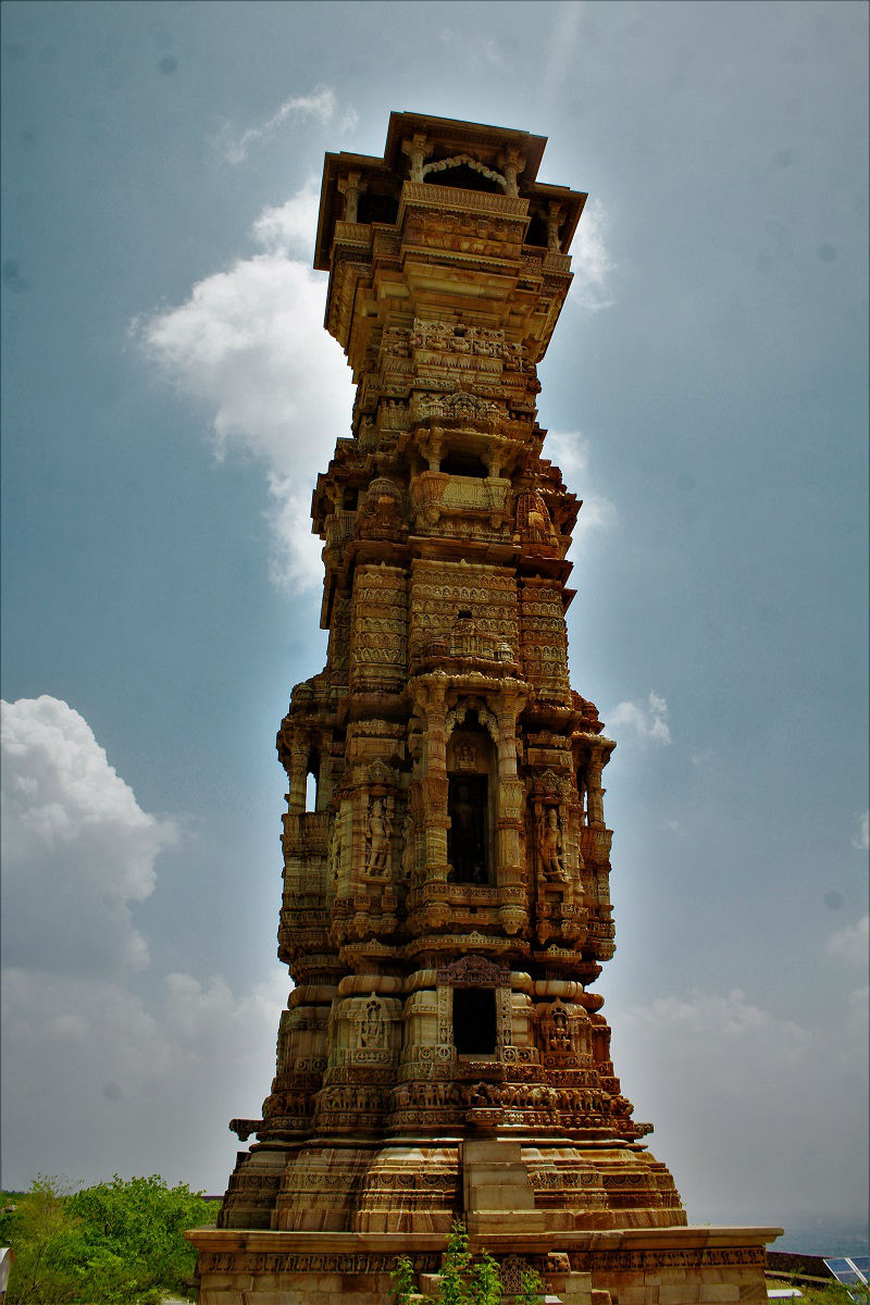 Kirti Stambh Chittorgarh Fort Rajasthan
