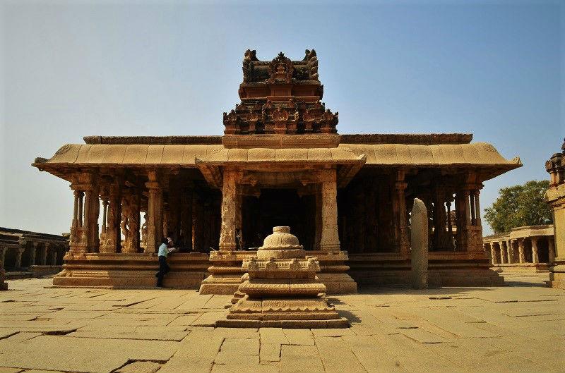 Krishna Temple Hampi Karnataka