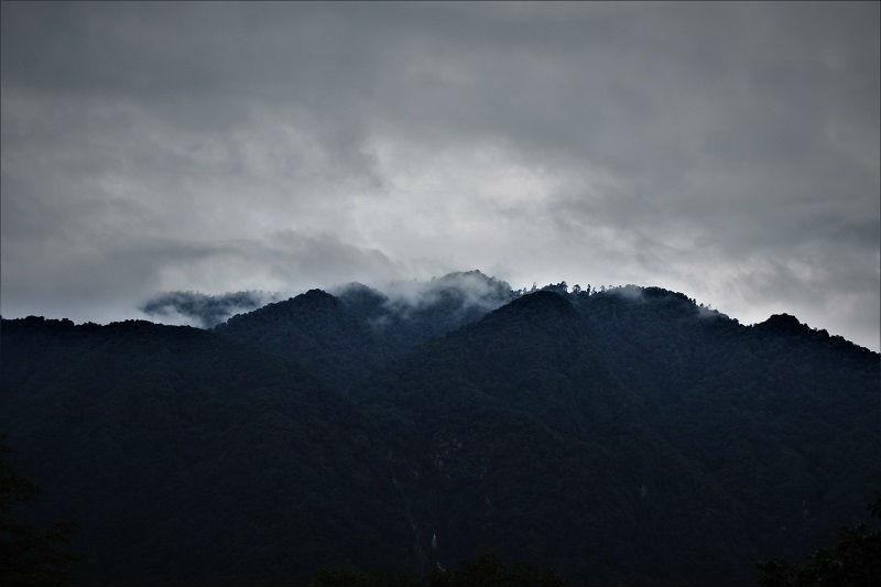 Landscape view Yuksom Sikkim