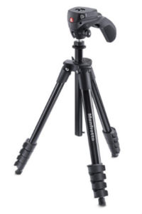 Manfrotto MKCOMPACTACN-BK Compact Action Tripod essential travel items