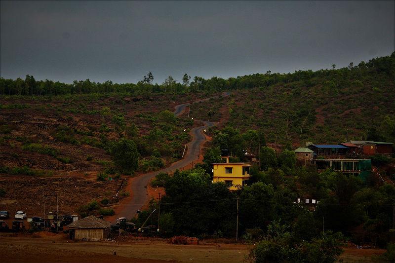 On way to Om beach Gokarna Karnataka