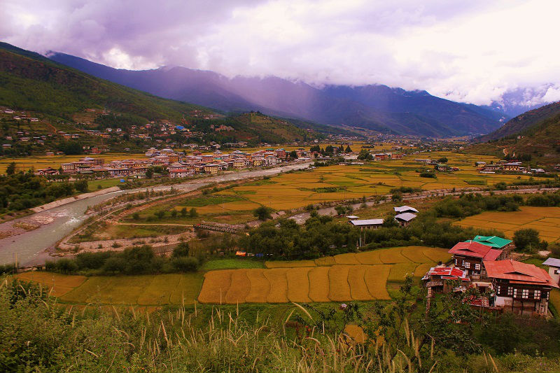 Paro City Bhutan