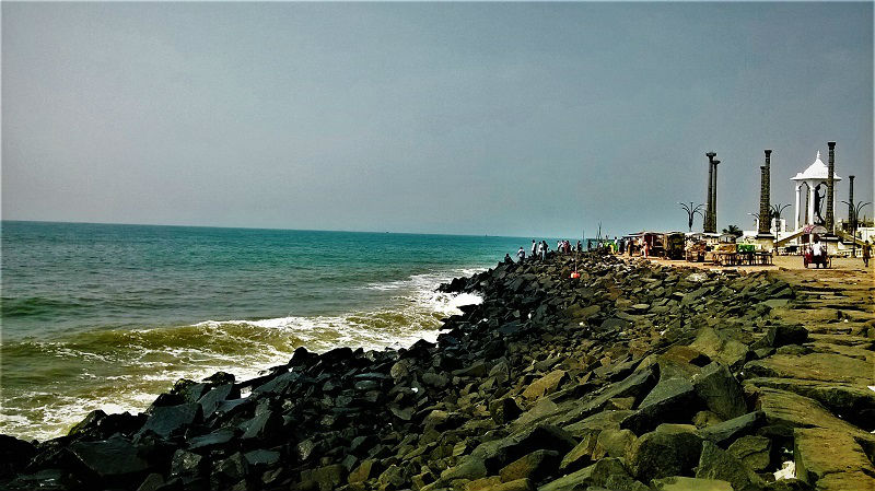 Promenade Beach Puducherry
