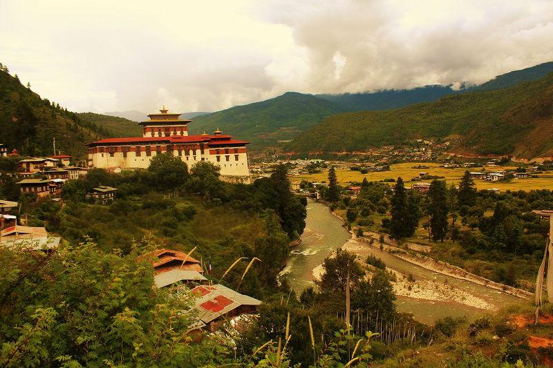 Rinpung Dzong Paro City Bhutan