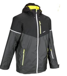 SLIDE 500 MEN'S SKI JACKET - BLACK essential travel items