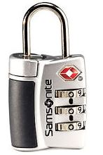 Samsonite Grey Luggage Lock essential travel items