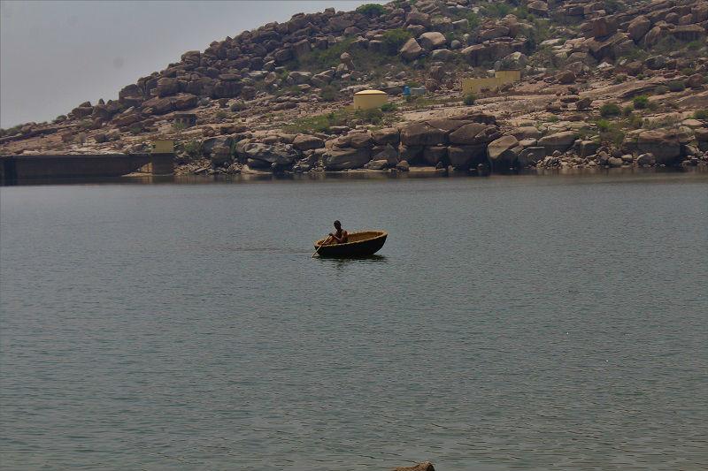Sanapur Lake Hampi Karnataka