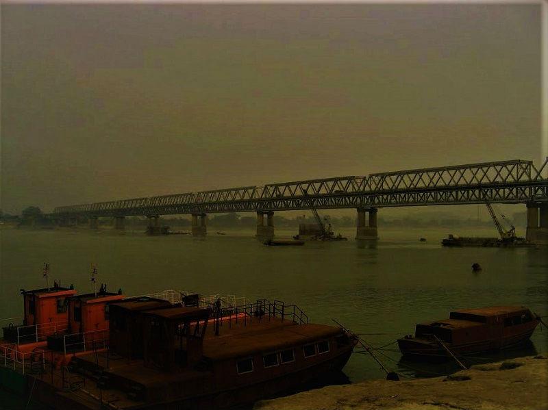 Saraighat Bridge Guwahati Assam