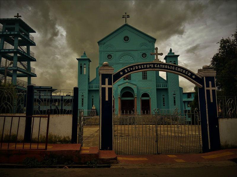 St Joseph Catholic church Shillong Meghalaya