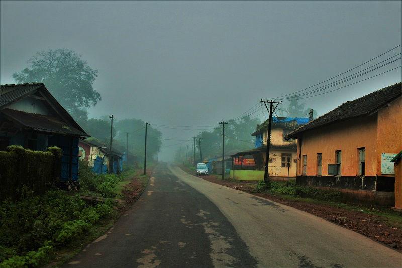 Streets near Dodda Mane Agumbe
