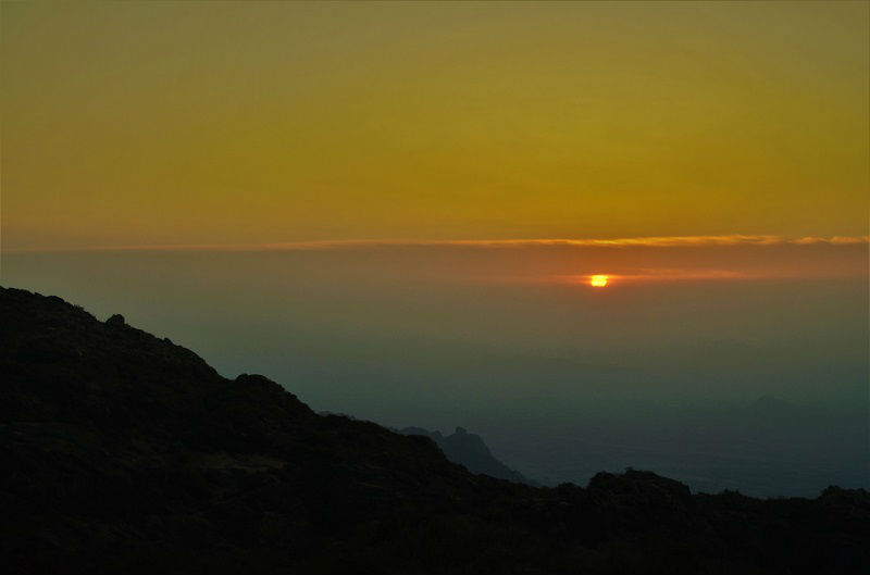 Sunset point Mount Abu Rajasthan