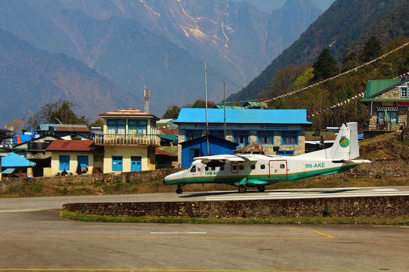 Tara airways Everest Base Camp trek