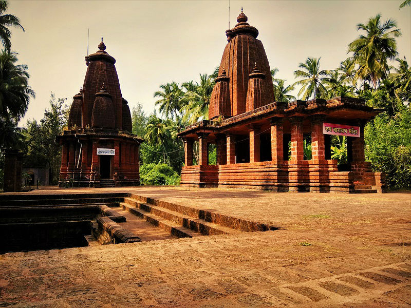 Temple at Diveagar Beach