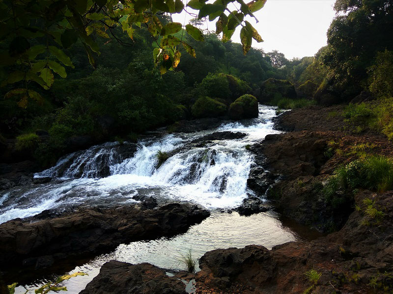 Thosegar waterfall source Satara