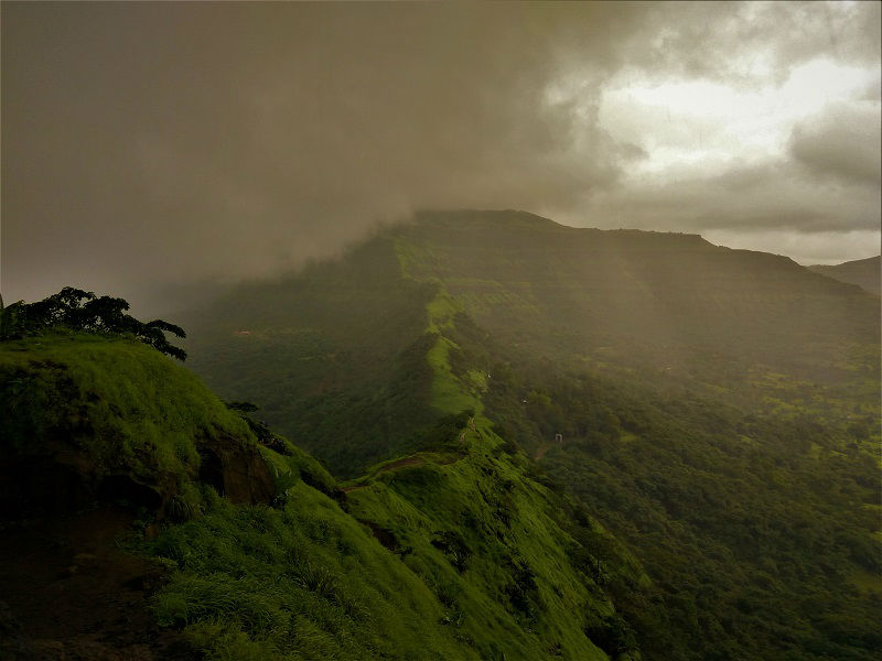 Tikona Fort Trek Near Pune District