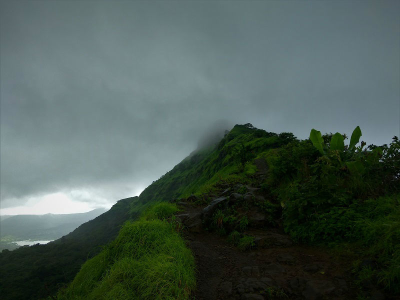 Tikona Fort Trek Pune