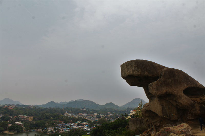 Toad rock Mount Abu Rajasthan