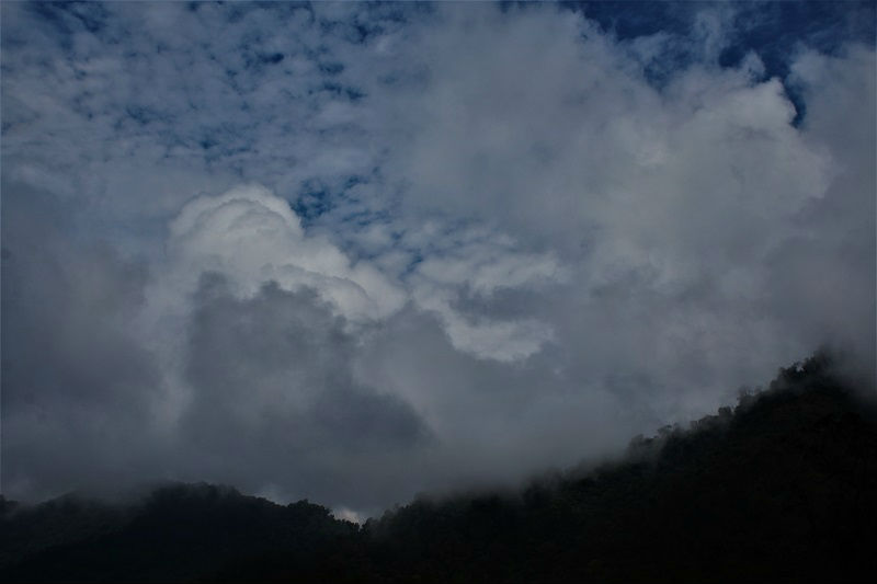 view from Shillong viewpoint
