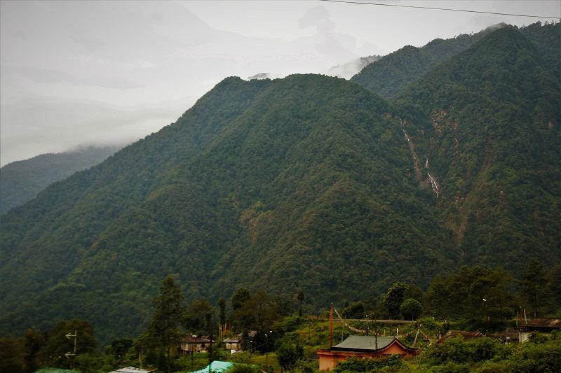 Views from Helipad Yuksom Sikkim