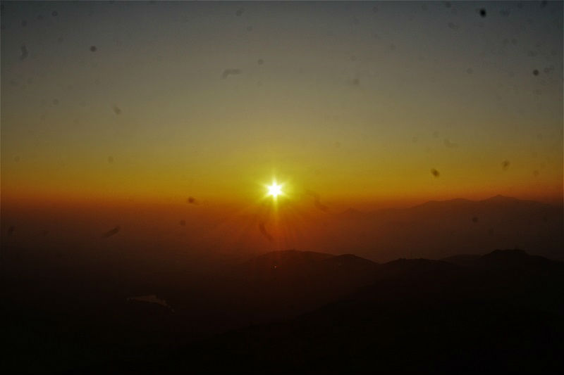 amazing sunrise at Lohagad Fort near Pune Mumbai