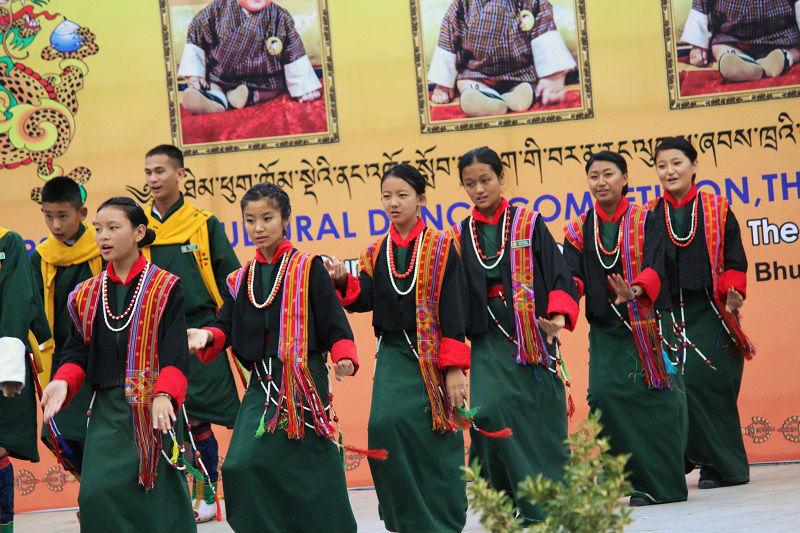 cultural dance clock tower a trip to Bhutan