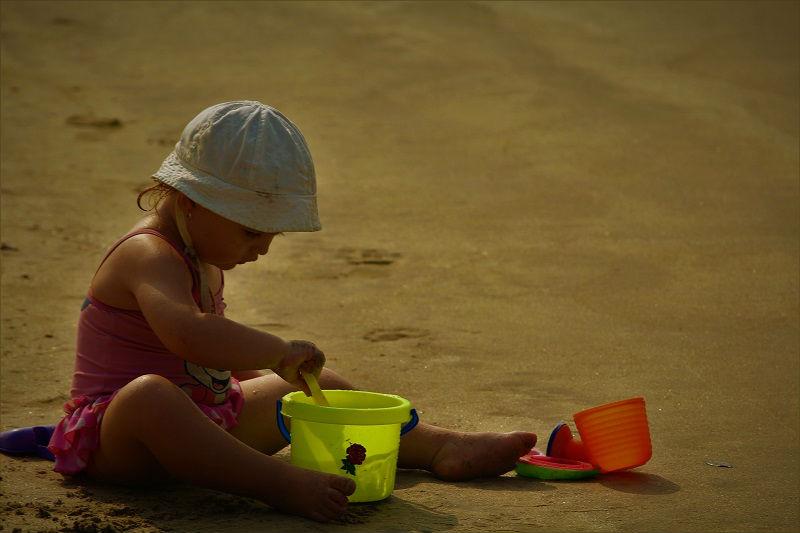 cute kid goa beach north goa or south goa