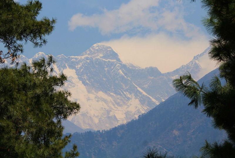 first view mount everest base camp trek