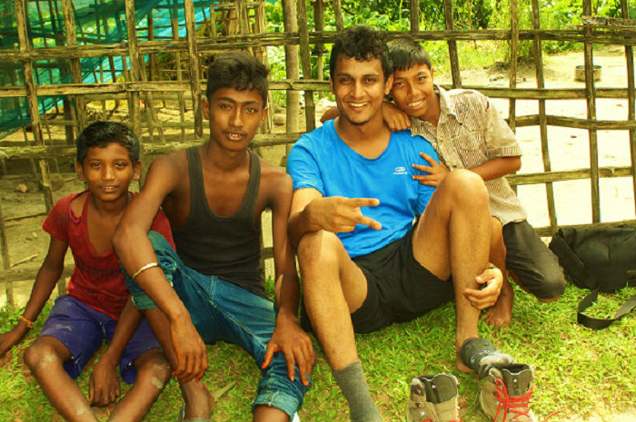 my new friends at Majuli river island assam
