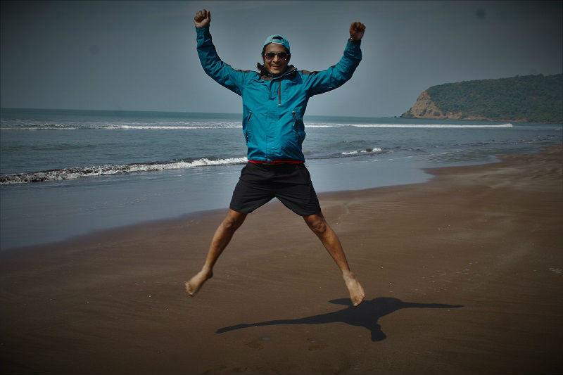 onacheaptrip at Harihareshwar Beach