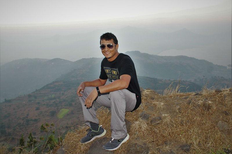 onacheaptrip at Lohagad Fort near pune mumbai