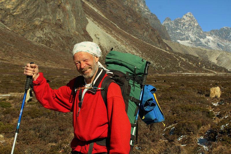 other treker Everest Base Camp trek