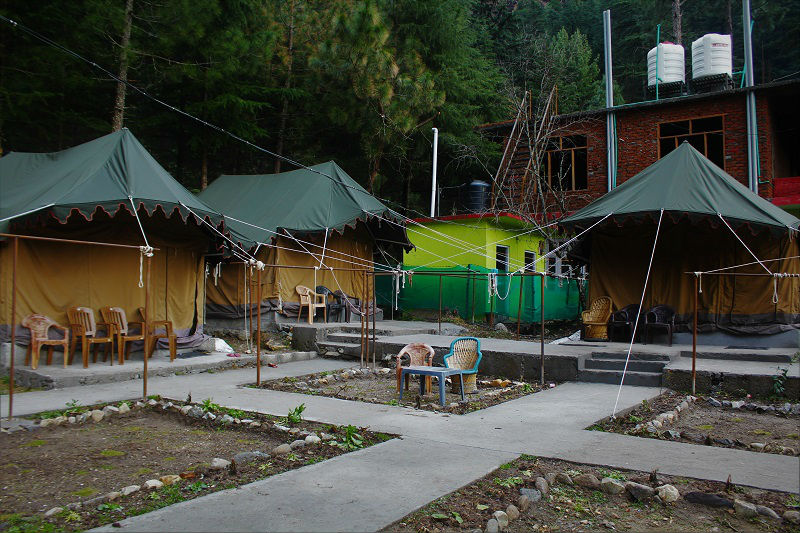 stay tents Kasol Himachal