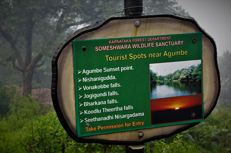 places to see near Dodda Mane Agumbe
