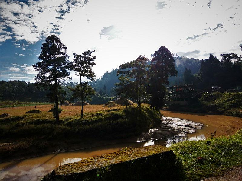route to Shillong Meghalaya