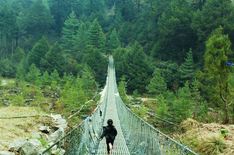 suspension Bridges Everest Base Camp trek
